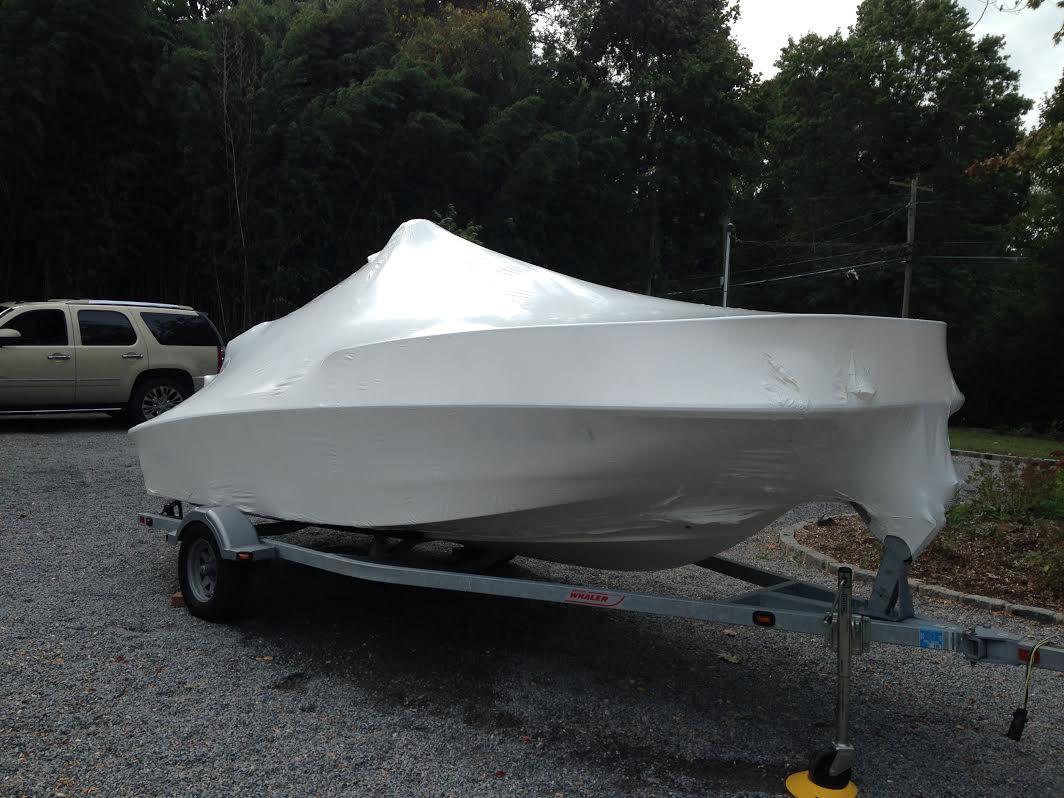 Huntington Marine Shrink Wrapping